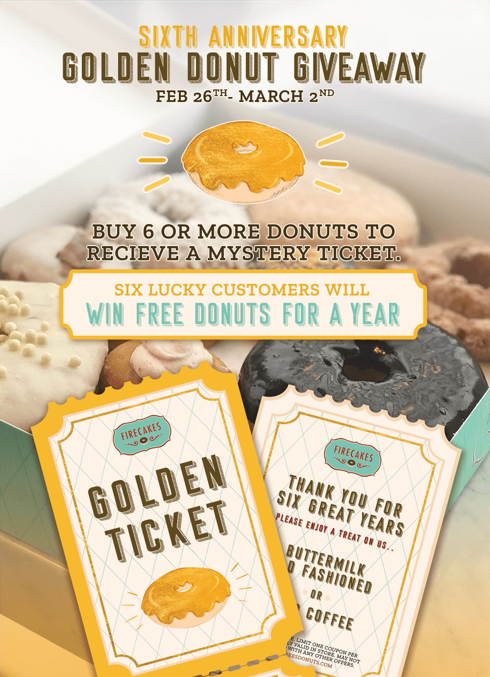 Contest – Firecakes Donuts